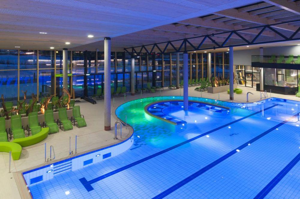 Indoor public pool  Public indoor pool - AST Eis- und Solartechnik GmbH